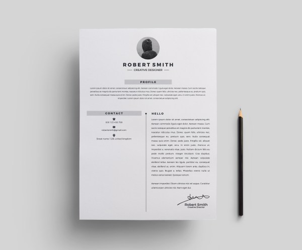 Star Stylish Resume Template