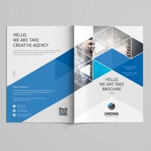 Stunning Professional Bi-Fold Brochure Template
