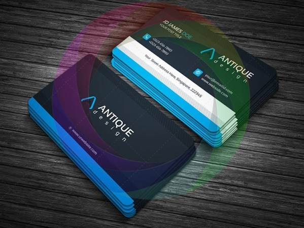 Stylish Business Card Design