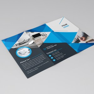 Stylish Clean Tri-Fold Brochure Template
