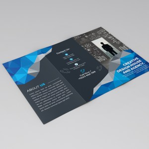 Stylish Modern Tri-Fold Brochure Template