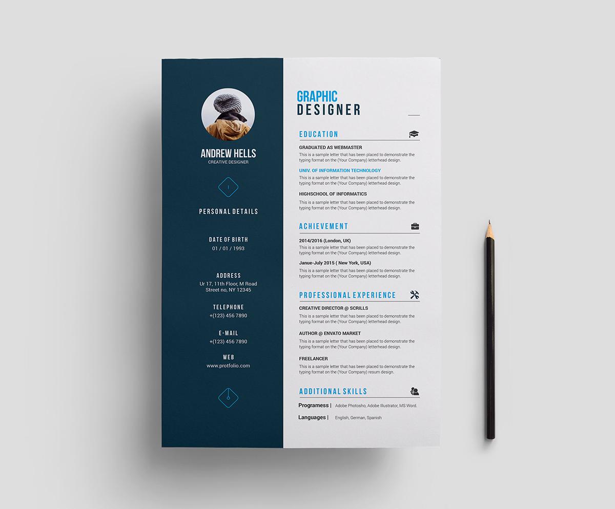 Stylish Resume from i1.wp.com