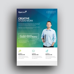 Thanatos Stylish Professional Corporate Flyer Template
