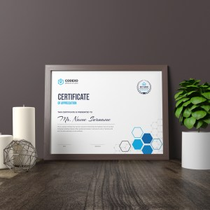 Top Rated Elegant Corporate Certificate Template