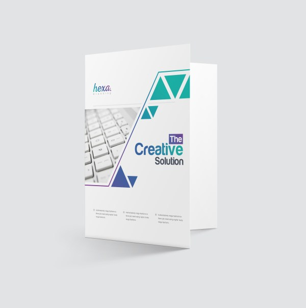 Uranus Professional Corporate Presentation Folder Template