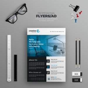 Valencia Modern Business Corporate Flyer Template
