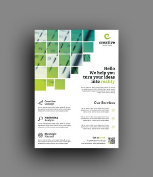 Vienna Stylish Professional Business Flyer Template