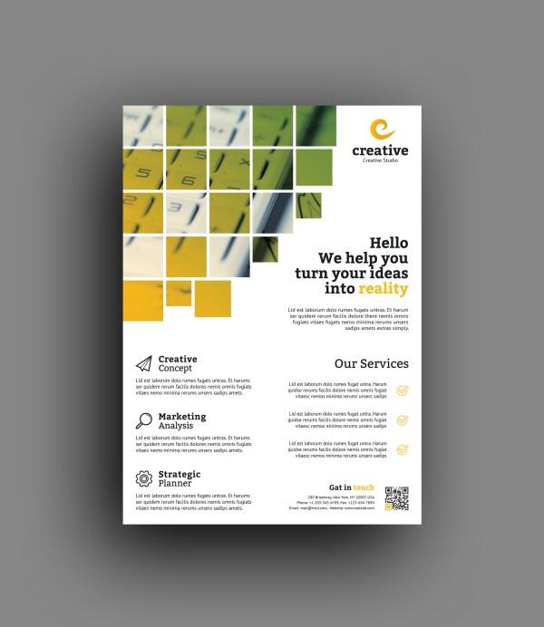 Vienna Stylish Professional Business Flyer Template