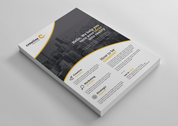Warsaw Elegant Professional Business Flyer Template