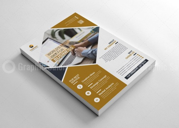 Business Print Flyer Templates