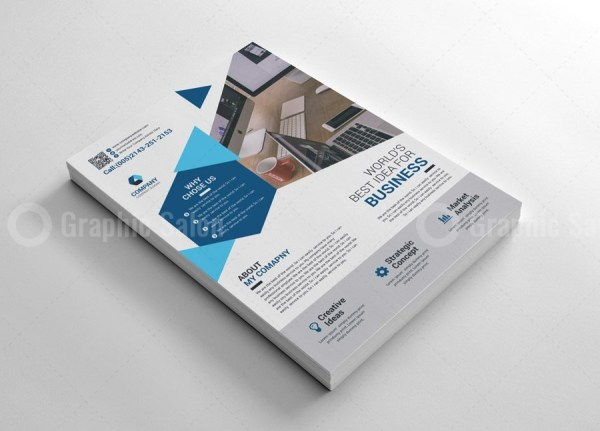 Corporate Print Flyer Templates