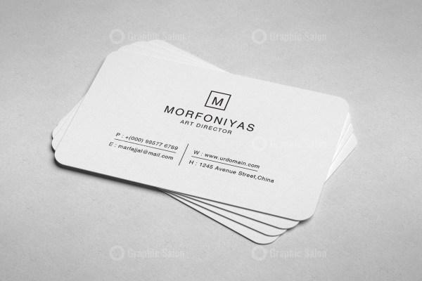 Plain Business Card Templates