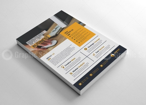 Printable Business Flyer Templates