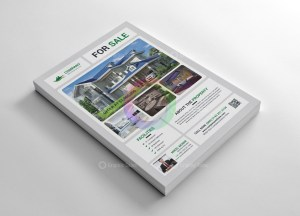 Real Estate Print Flyer Templates