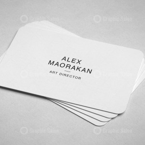 Simple Classic Business Card