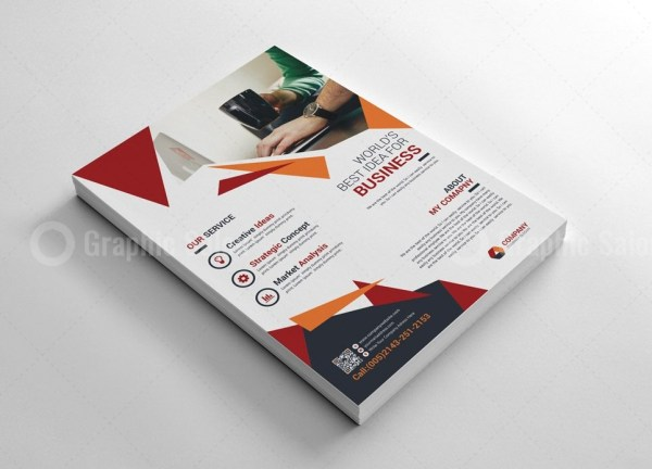 Stylish Corporate Flyer Templates