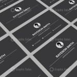 Minimalist Visiting Card Templates 6