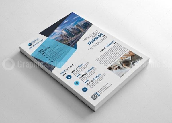 Modern Print Flyers Template 2