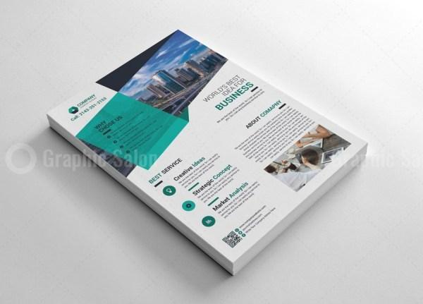 Modern Print Flyers Template 4