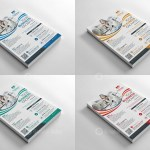 Modern Print Flyers Templates 1