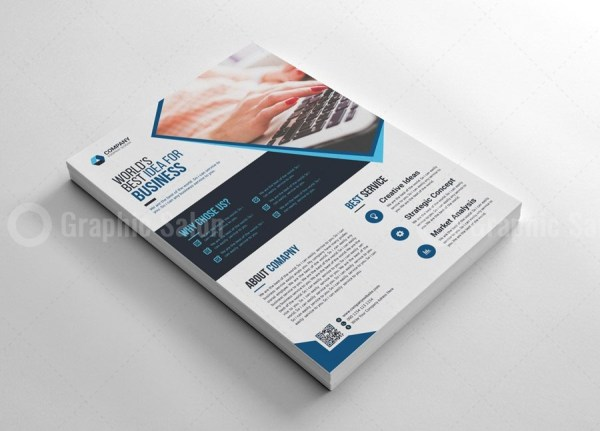 Top Print Flyers Template 2