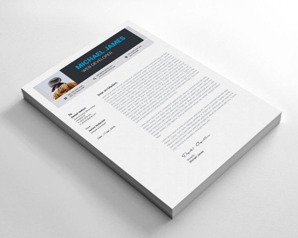 Minimalist Elegant CV Design