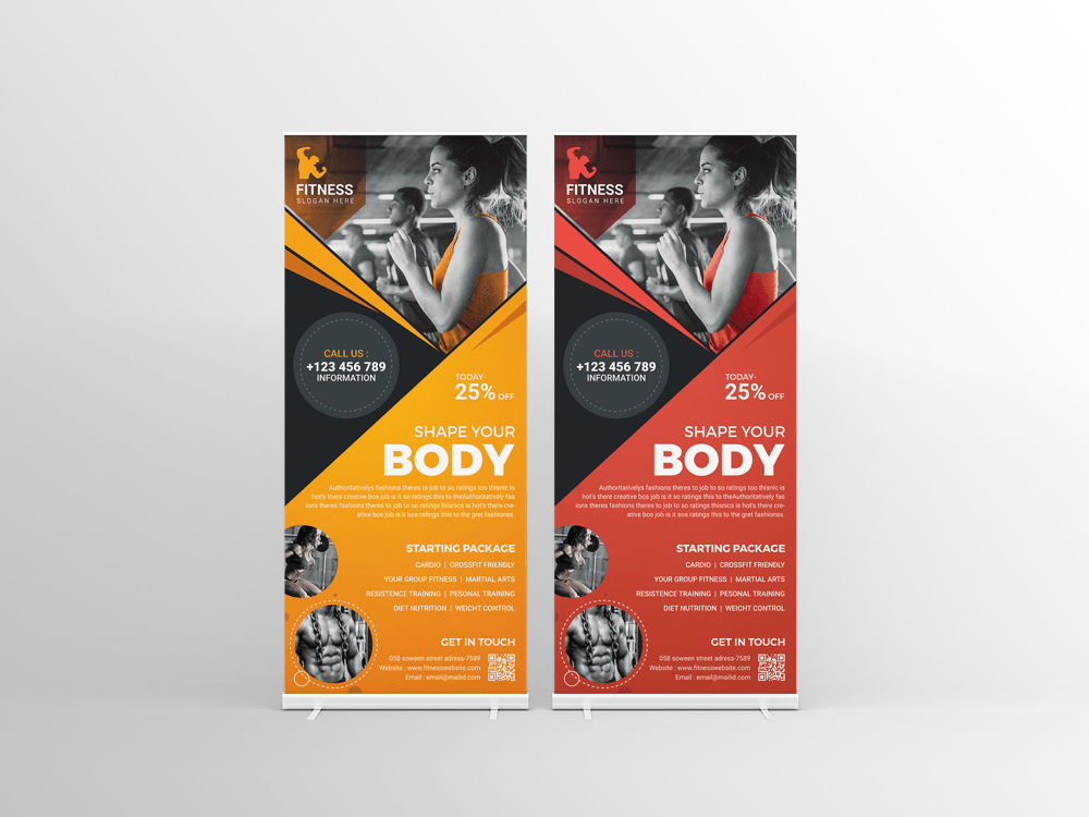 Best Roll-Up Banner Templates