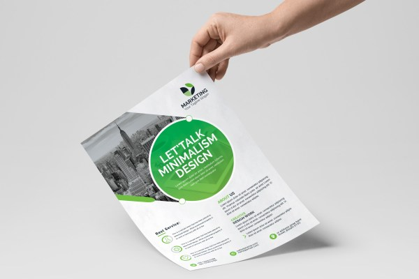 PSD Excellent Business Flyer Templates