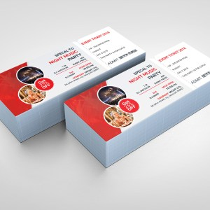 PSD Excellent Ticket Template