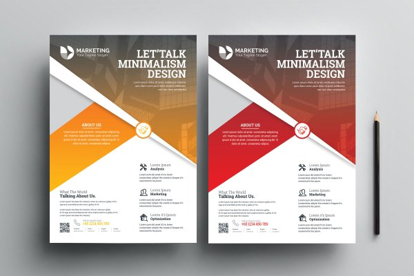 Modern PSD Flyer Templates