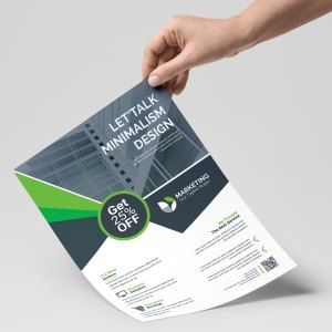 PSD Corporate Flyer Templates