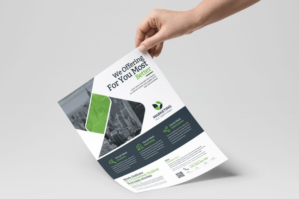 Stylish PSD Flyer Templates