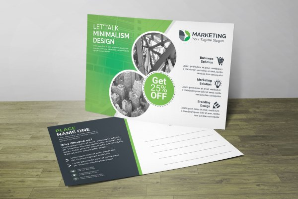 Top PSD Postcard Design Templates