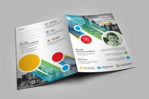 Colorful Presentation Folder Template