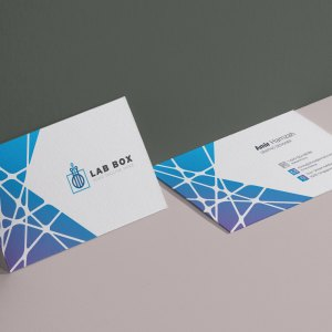 Elegant Visit Card Template