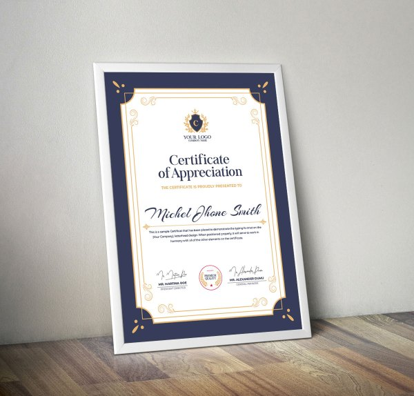 Perfect Certificate Design Templates