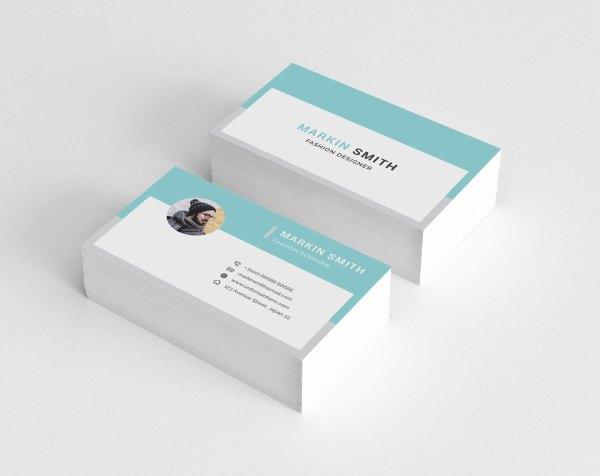 Plain Business Card Template