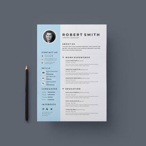 Creative Vector Resume Template