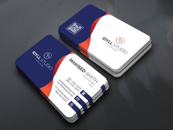 EPS Sleek Name Card Templates