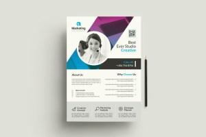 Creative PSD Flyer Poster