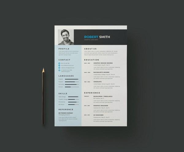 EPS Creative Resume CV Template