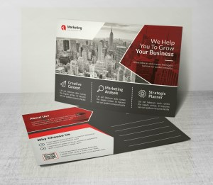 PSD Business Postcards Design