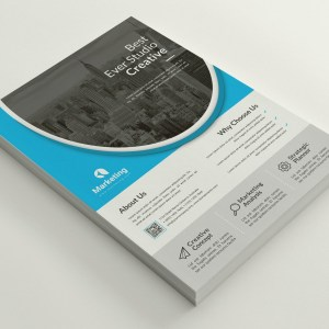 Stylish PSD Flyer Poster