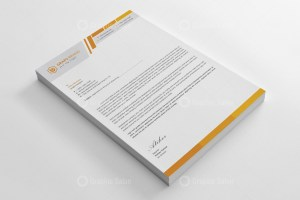 Executive Letterhead Design