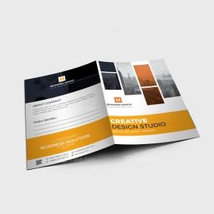 EPS Stylish Folder Design Template