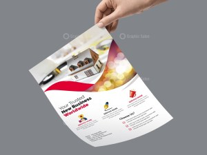 PSD Architecture Business Flyer