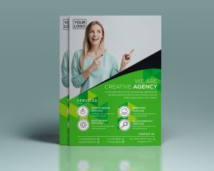 PSD Creative Corporate Flyer Design