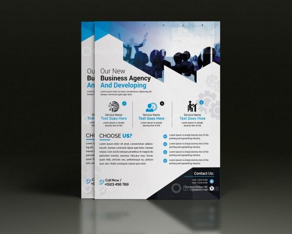 PSD Flyer Design Template