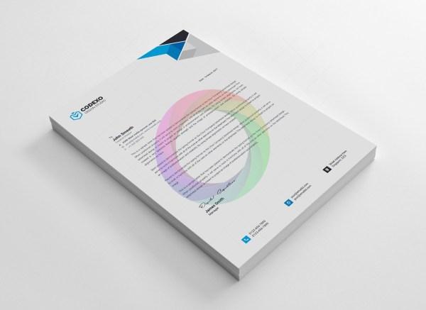 Clean Letterheads Design 2