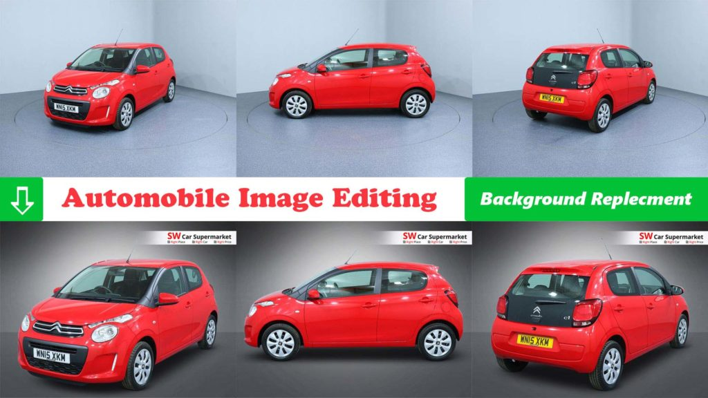 Automobile Image Editing Service